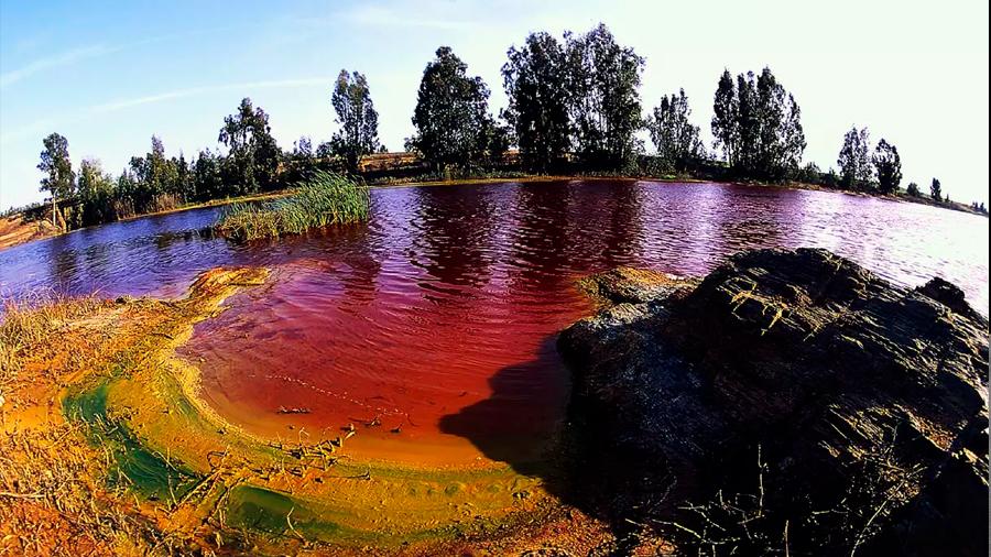 En río español viven organismos que no necesitan luz para ello y usan hidrógeno como energía