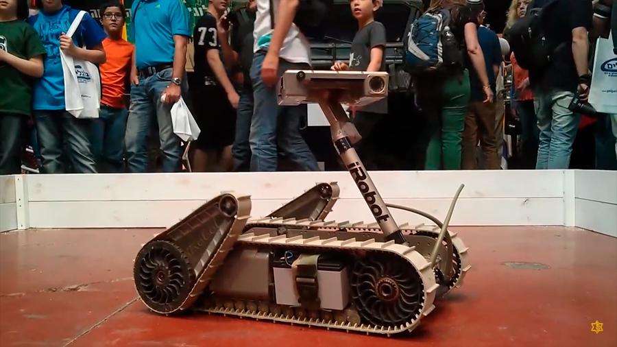 Conoce al soldado iRobot que es el primero en entrar a los túneles de terroristas
