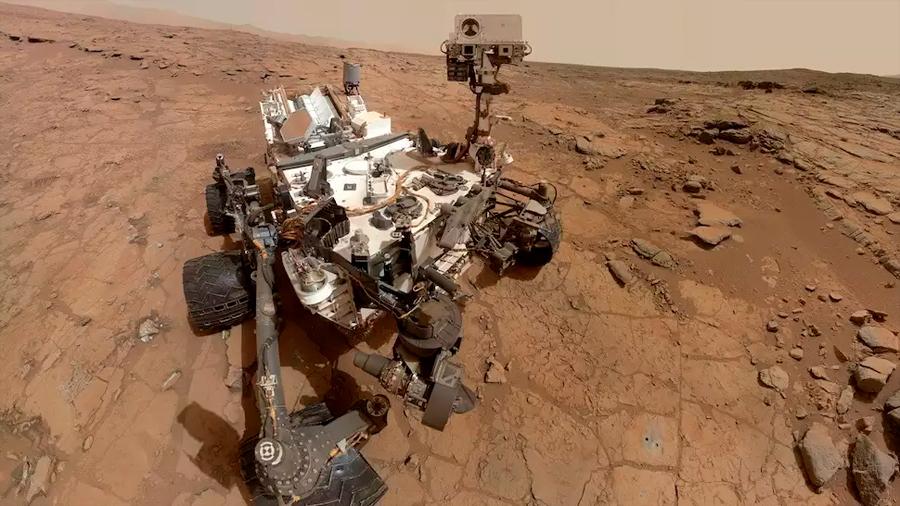 El rover Curiosity en Marte 'cambia' de cerebro por un fallo de memoria