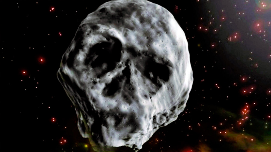 "Espeluznante asteroide ""Calavera"" reaparece. Se acercará unos días después de Hallowen"