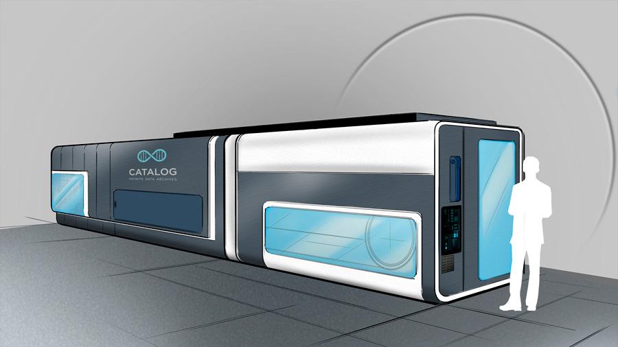 Así funciona la máquina para almacenar datos en ADN que parece un autobús