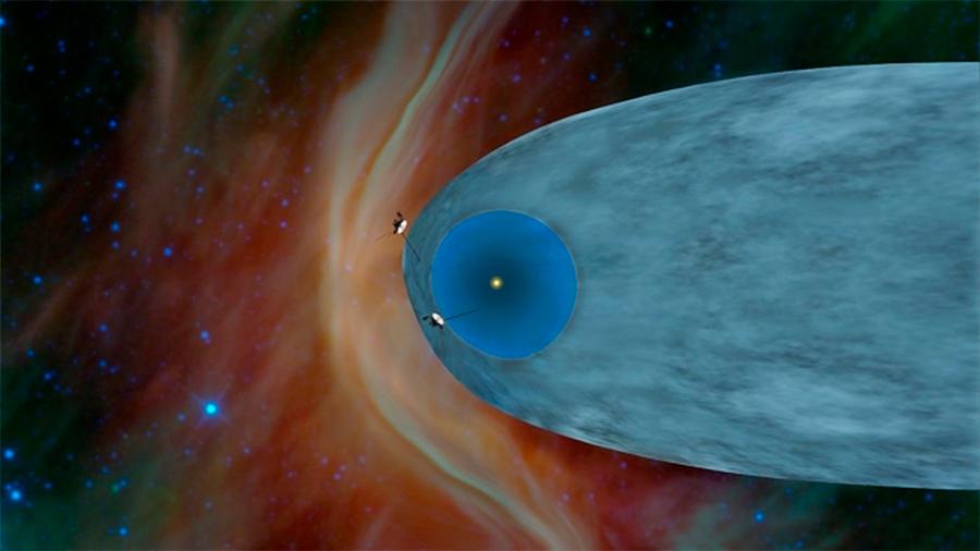 Se reciben señales de que la nave Voyager 2 está saliendo del Sistema Solar