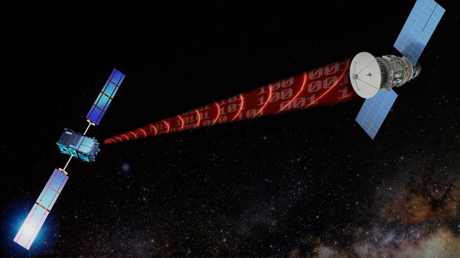 Matemáticamente, las ondas gravitacionales pueden transferir datos
