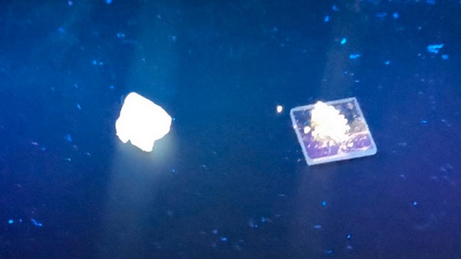Un LED de 'arena' produce luz blanca como la del sol