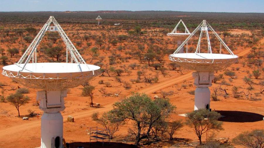 Un telescopio australiano capta una andanada de misteriosas ondas de radio del espacio profundo