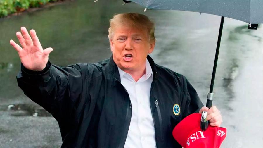 Al fin Trump admite el cambio climático pero duda de una causa humana