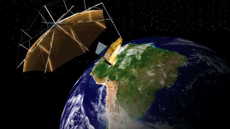 Un radar espacial para contar cuántos árboles hay en la Tierra