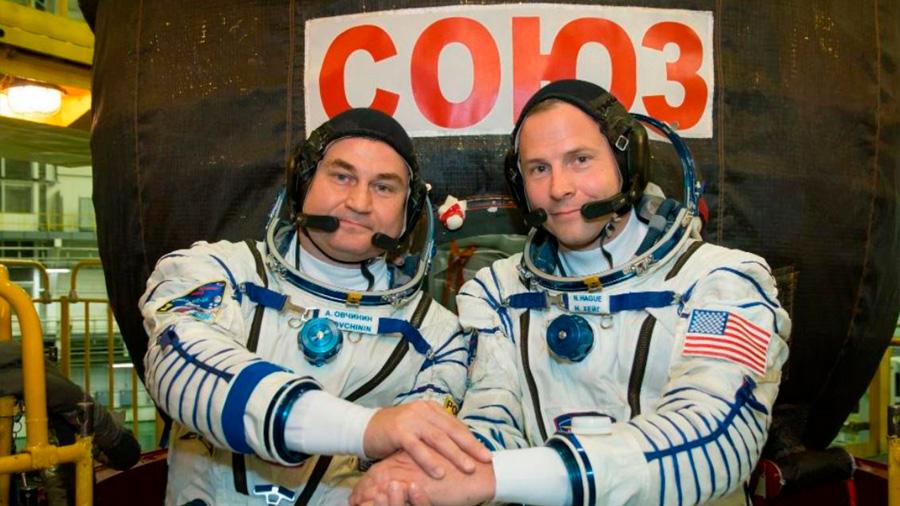Astronautas cuentan su experiencia en el fallo de la nave 'Soyuz'