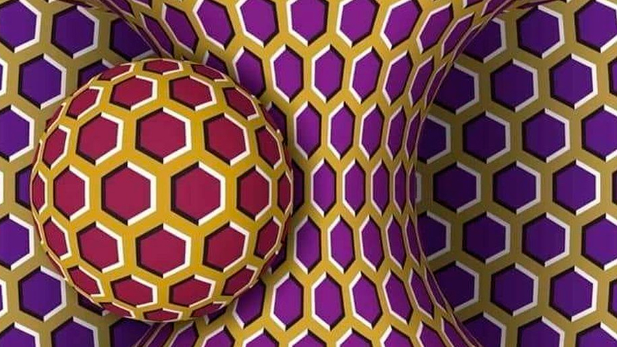 Extraño efecto óptico desconcierta a internet: ¿se mueve esta imagen?