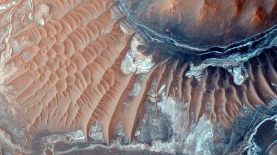 Marte tiene el potencial de albergar el oxígeno suficiente para microbios y esponjas