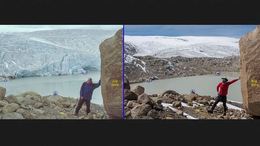 La mayor capa de hielo tropical del mundo, en Perú, se deshace
