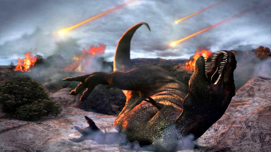 El meteorito que mató a los dinosaurios convirtió la roca en líquido, muestra nuevo estudio