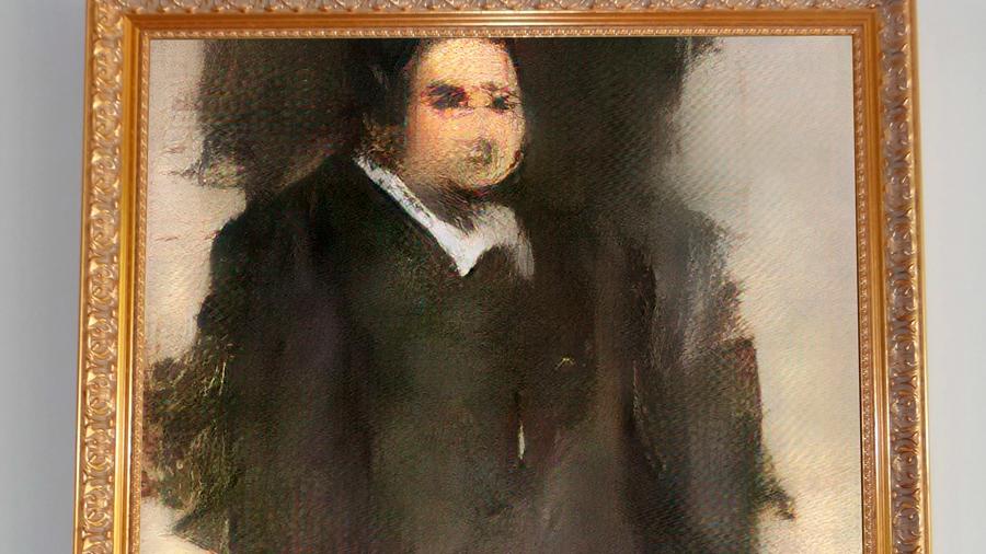 Pagan 432,500 dólares por 'obra de arte' hecha con inteligencia artificial