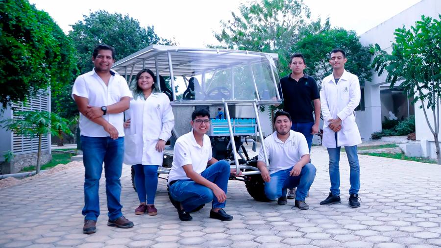 Crearon tecnólogos mexicanos vehículo híbrido solar todoterreno