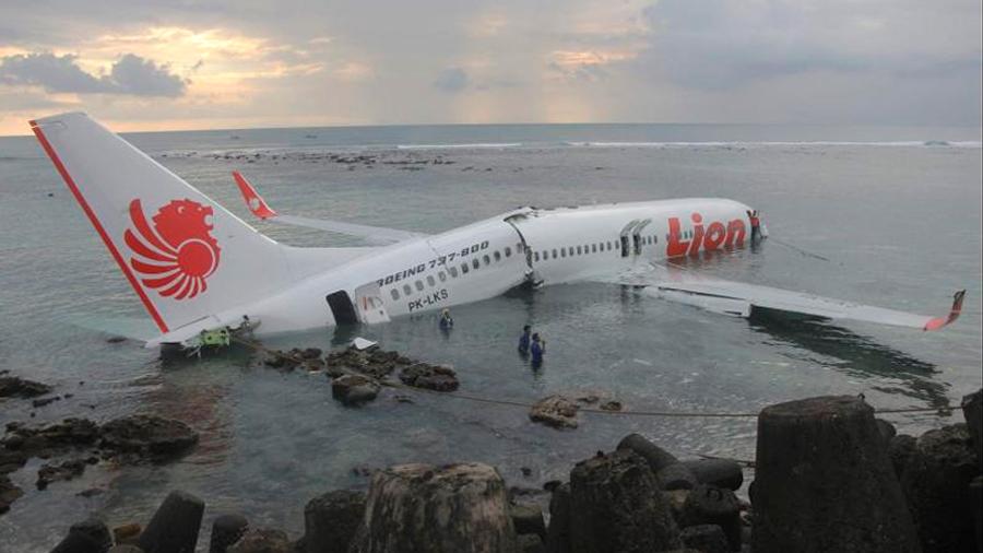 Boeing 737 que se estrelló en Indonesia el domingo (188 muertos) llevaba dos meses volando