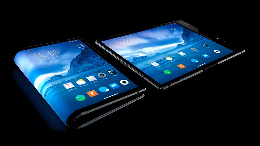 Presentan el primer celular con pantalla plegable del mundo