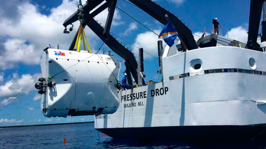 Submarino de 48 millones de dólares se sumergirá hasta el abismo más profundo del océano
