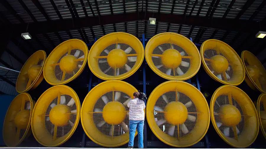 Muro de Viento: así es la máquina de huracanes más potente del mundo