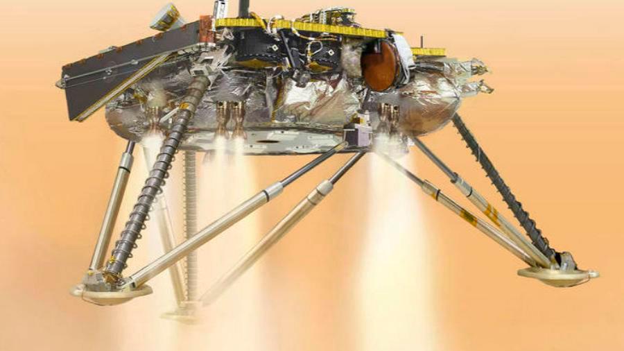 """Misión de la NASA a punto de empezar a conocer """"el corazón"""" de Marte: aterriza 26 de noviembre"""