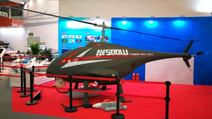 China probó un impresionante helicóptero de ataque que se pilotea solo