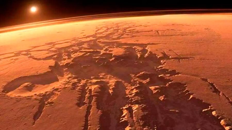 """Las rocas en Marte actuarían como """"pilas"""" para dar lugar a moléculas orgánicas"""