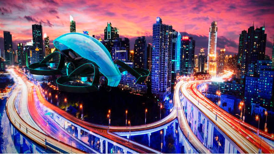 """""""Revolucionar"""" la movilidad urbana con carros voladores, la nueva idea de la Nasa"""