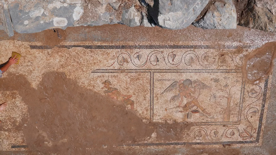 Las pintas graciosas y obscenas también existieron en los baños públicos romanos