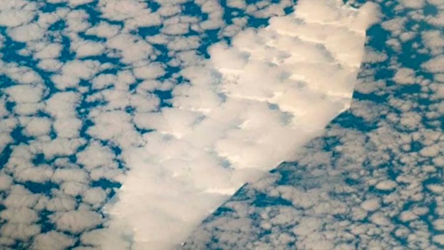 Gélida muerte: NASA capta los últimos momentos de un iceberg