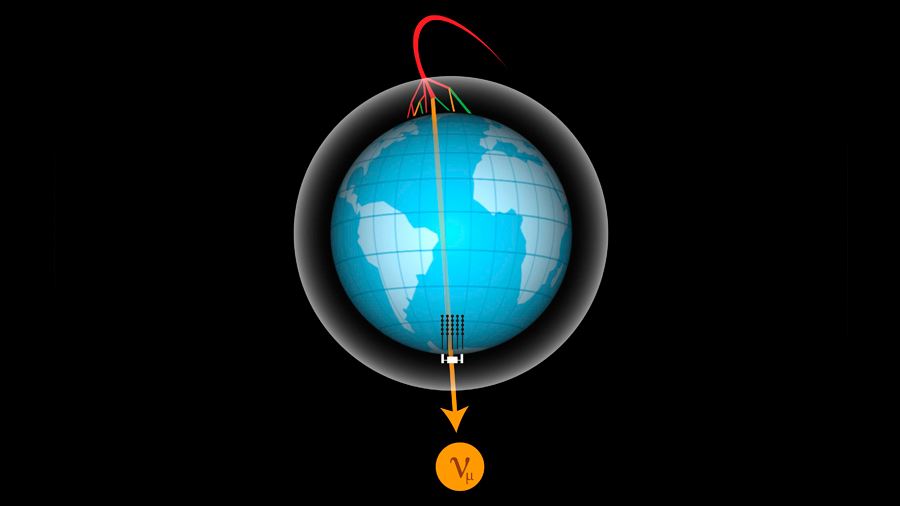 Primera tomografía de la Tierra mediante neutrinos
