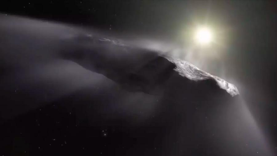Expertos ridiculizan la teoría de la nave extraterrestre en el sistema solar