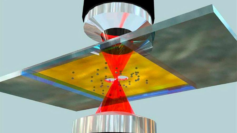 Científicos mexicanos desarrollan sistema de pinzas ópticas capaz de manipular glóbulos rojos