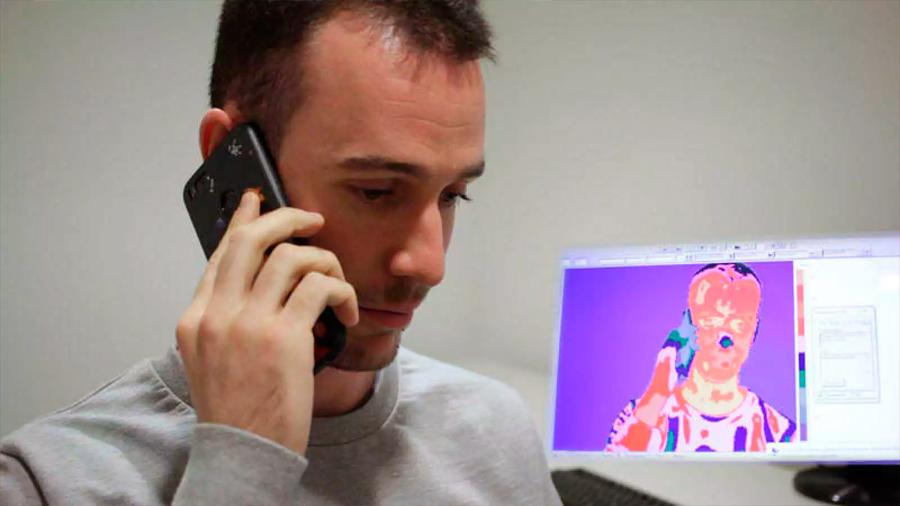 Crean españoles el detector de mentiras más fiable hasta la fecha, basado en la termografía