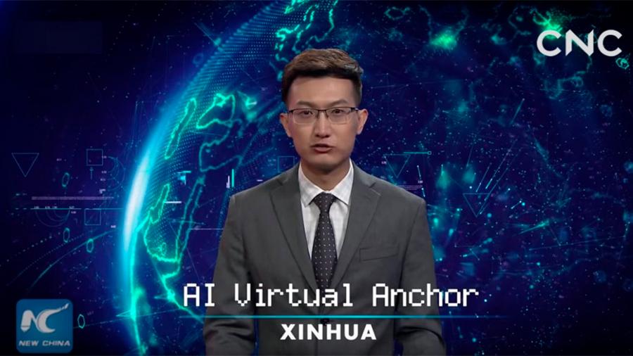China presentó el primer conductor virtual de noticiero: cómo se hizo