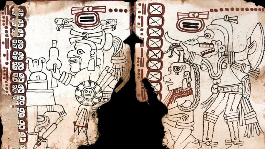 Investigadores difunden en España el códice prehispánico más antiguo