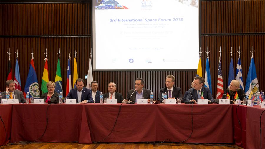 Avanza el proyecto de formar una agencia espacial Latinoamericana