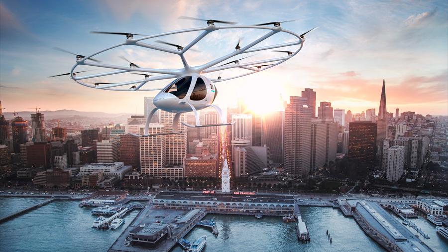 Singapur, el paraíso de los taxis voladores