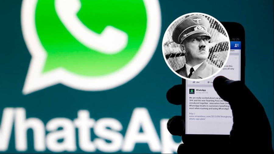 Alemanes de ultraderecha viralizan stickers nazis en WhatsApp