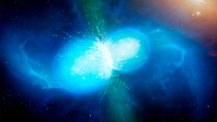 Detectan Primeras ondas gravitacionales de una superestrella de neutrones fusionada