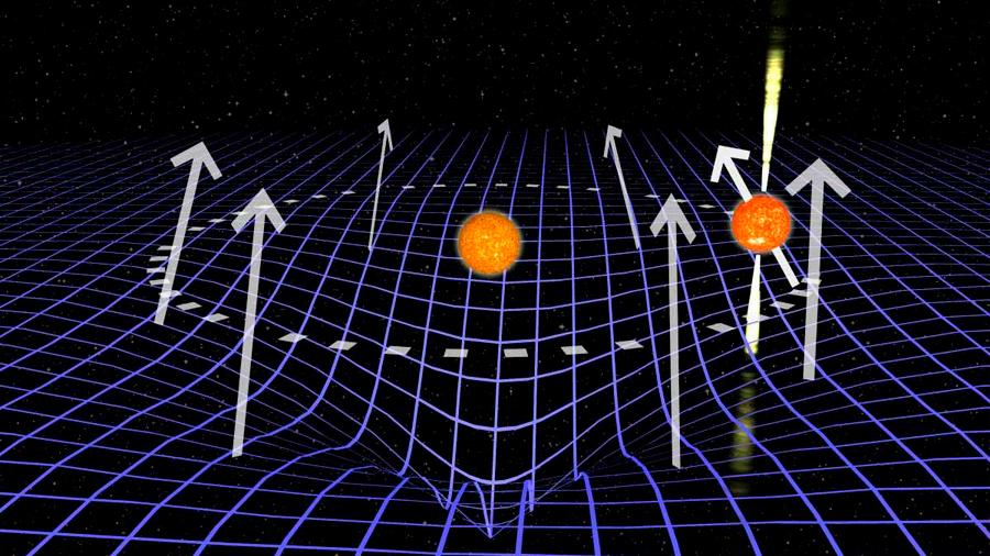Miden una distorsión del espacio-tiempo a 25,000 años-luz de la Tierra