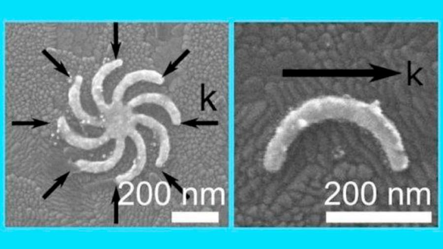 Inesperada modulación gigante de la luz con nanopartículas de oro