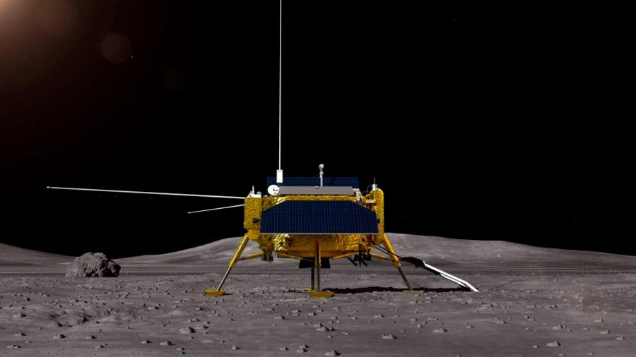China lanza la histórica primera misión a la cara oculta de la Luna
