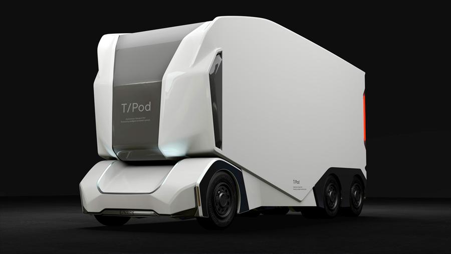 Suecos diseñan primer camión eléctrico sin conductor