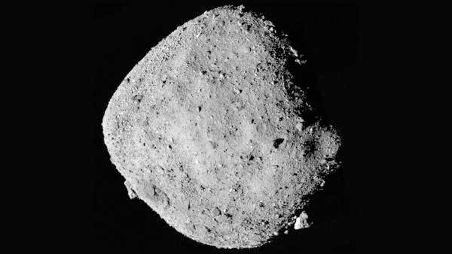 La NASA descubre agua en el peligroso asteroide Bennu