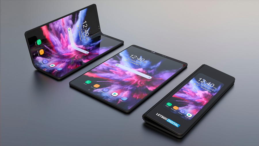 "Presentan un celular plegable que se ""convierte"" en Tablet"