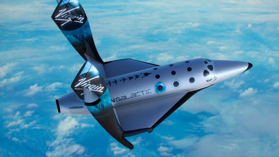 Virgin Galactic alcanza el espacio con su vehículo suborbital