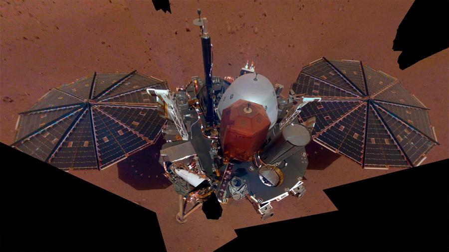 Selfie marciano a 146 millones de kilómetros de distancia