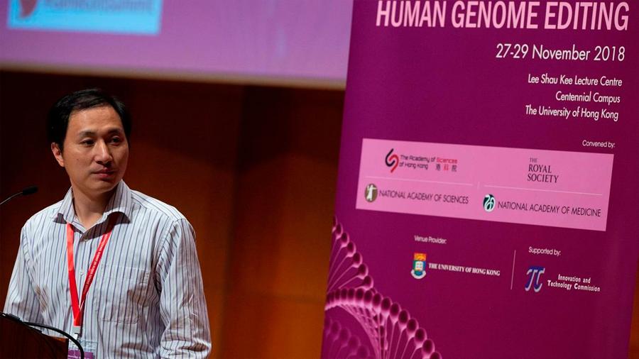 El polémico científico He Jiankui entra en el 'top' 2018 de Nature