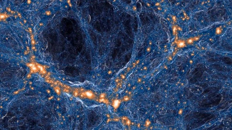 Una nube cósmica de gas, identificada como reliquia del Big Bang