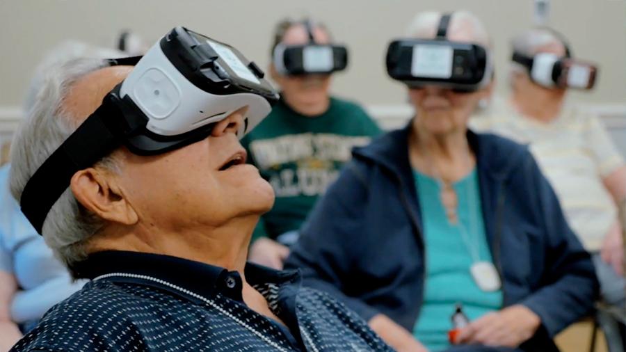 Lentes de realidad virtual podrían ayudar a detectar el Alzheimer