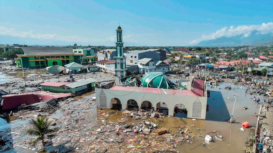 El mortal tsunami de septiembre en Indonesia provino de un colapso